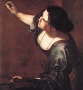 GENTILESCHI Artemisia Self Portrait As The Allegory Of Painting