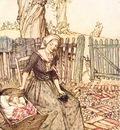 Rackham Arthur Mother Goose Bye Baby Bunting