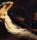 scheffer ary the ghosts of paolo and francesca appear to dante and virgil