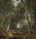 Durand Asher B In The Woods
