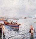 Pratella Attilio Neapolitan Fishermen
