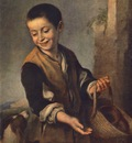 Murillo Boy with a Dog