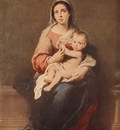 Murillo Madonna and Child c1670