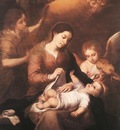 Murillo Mary and Child with Angels Playing Music