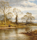 Leader Benjamin Williams An English River in Autumn
