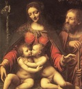 LUINI Bernardino Holy Family With The Infant St John