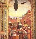 PINTURICCHIO Aeneas Piccolomini Arrives To Ancona