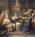 LOO Carle van The Grand Turk Giving A Concert To His Mistress