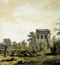 FRIEDRICH Caspar David Landscape With Pavilion