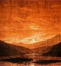 FRIEDRICH Caspar David Mountainous River Landscape