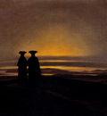 Friedrich Caspar David Sunset