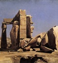GLEYRE Charles Gabriel Egyptian Temple