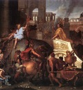 LE BRUN Charles Entry Of Alexander Into Babylon