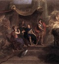 LE BRUN Charles The Resolution Of Louis XIV To Make War On The Dutch Republic