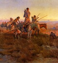 Russell Charles Marion In the Wake of the Buffalo Hunters
