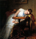 Cope Charles West Hope Deferred And Hopes And Fears That Kindle Hope