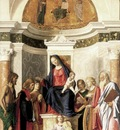 CIMA da Conegliano Madonna Enthroned With The Child