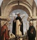 CIMA da Conegliano St Peter Martyr With St Nicholas Of bari