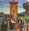 CIMA da Conegliano The Madonna And Child With St John The Baptist And Mary Magdalen