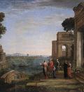 Aeneas Farewell to Dido in Carthago WGA