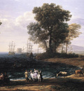 Coast Scene with the Rape of Europa WGA