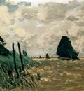 Monet A Windmill Near Zaandam