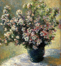 Monet Claude Vase Of Flowers