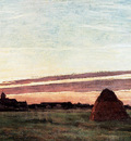 monet haystacks at chailly