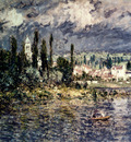 Monet Landscape With Thunderstorm