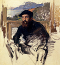 Monet Self Portrait In His Atelier