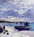 Monet The Beach At Sainte Adresse