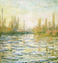 Monet The Ice Floes