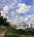 Monet The Marina At Argenteuil