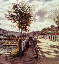 Monet The Seine At Bougival