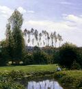 Monet View At Rouelles Le Havre