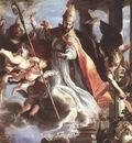 COELLO Claudio The Triumph Of St Augustine