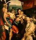 CORREGGIO Madonna With St Jerome The Day