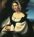 CORREGGIO Portrait Of A Gentlewoman