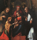 CORREGGIO The Mystic Marriage Of St Catherine