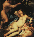 CORREGGIO Venus And Cupid With A Satyr