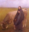 dagnan bouveret in the meadow,