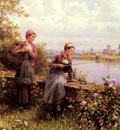 Knight Daniel Ridgeway Maria And Madeleine Fishing