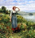 Knight Daniel Ridgway A Field of Flowers