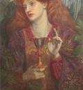 Rossetti Dante Gabriel The Holy Grail