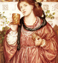 Rossetti Dante Gabriel The Loving Cup