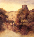 Cox David Castle In An Autumn Landscape