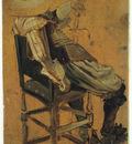 Hals Dirck Seated Man with Sword