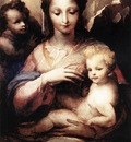BECCAFUMI Domenico Madonna With The Infant Christ And St John The Baptist