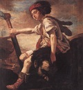 FETI Domenico David With The Head Of Goliath
