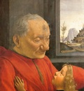 GHIRLANDAIO Domenico An Old Man And His Grandson